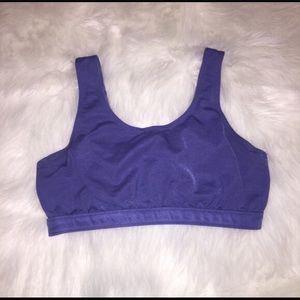 Patagonia purple racerback bra